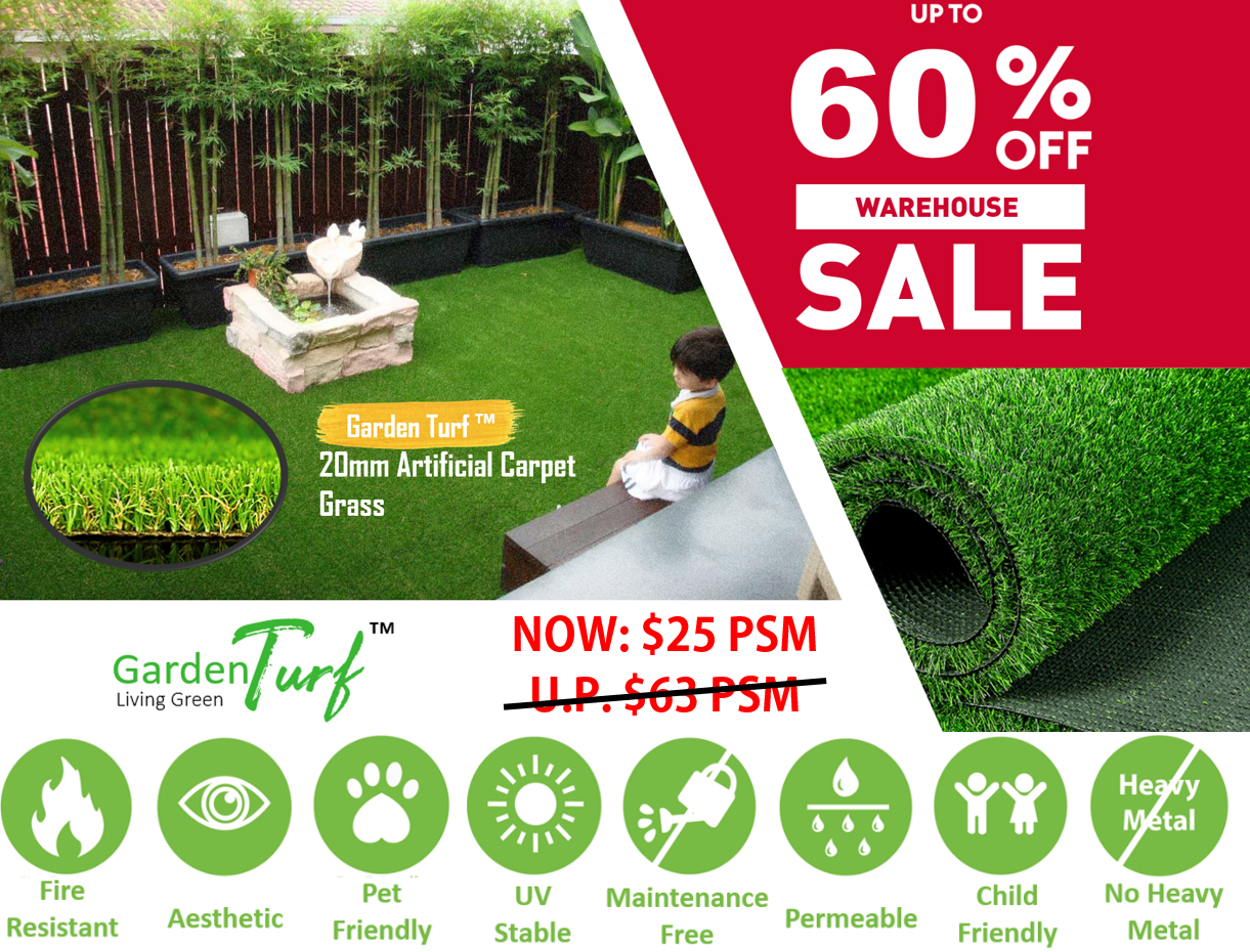 Garden Turf™ 20mm Synthetic Grass (Tropical20)