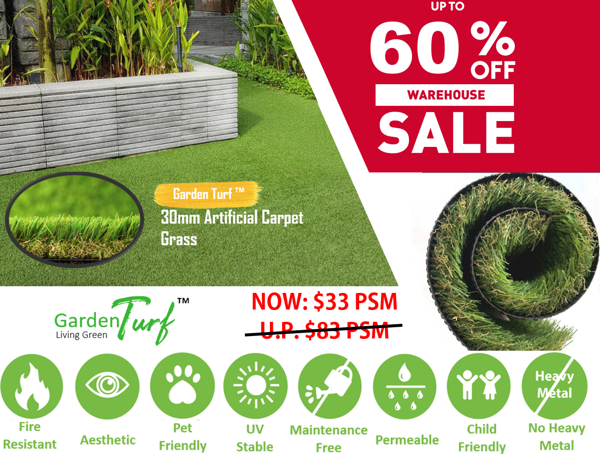 Garden Turf™ 30mm Synthetic Grass (Tropical30)