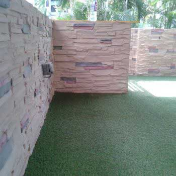 Artificial Grass Shot From Another Angle