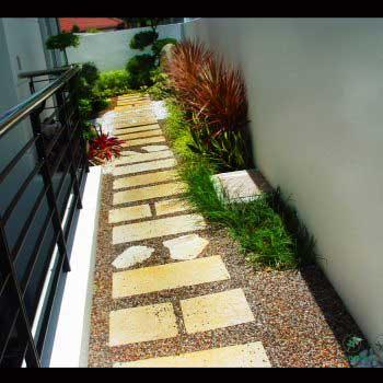 artistic garden landscape