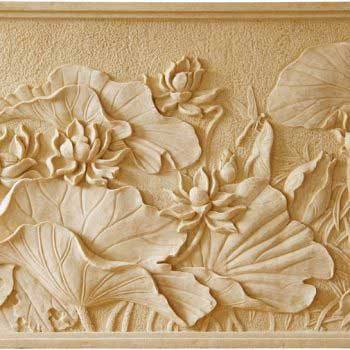 beautiful wall carvings