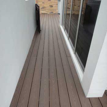 Corridor Timber Decking