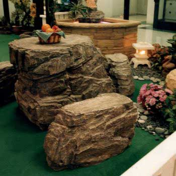custom-design of rock table