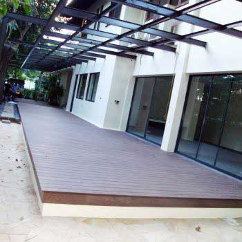 Timber Decking Floor