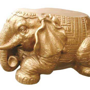 Single Elephant Ornament