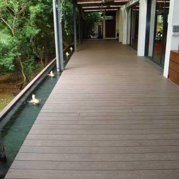 Timber Deck Corridor