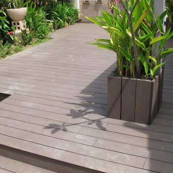 Timber deck flooring