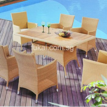 garden furniture and decking
